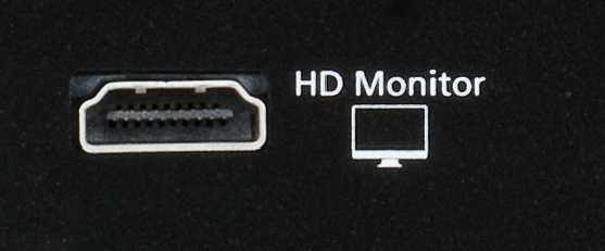 HD Monitor output on a March Networks hybrid NVR