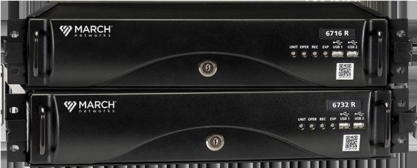 March Networks 6700 Hybrid NVRs