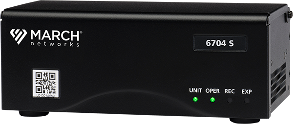 image of March Networks 4-channel 6700 Series Hybrid NVR