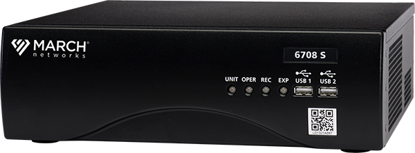 image of March Networks 8-channel 6700 Series Hybrid NVR