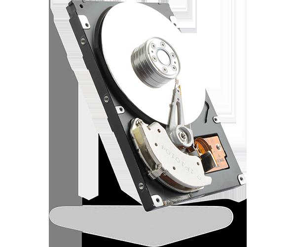 A hard drive disk