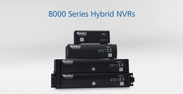 March Networks 8000 Series Hybrid NVRs