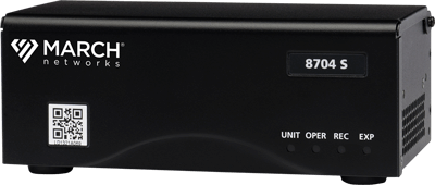 The 8704 4-channel Hybrid NVR