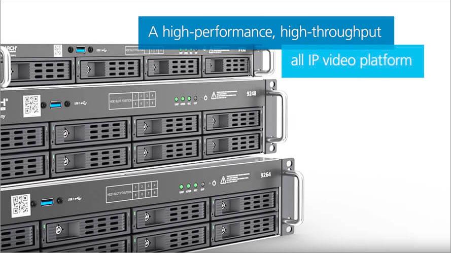 9000 Series IP Recorders: High Performance Meets High Throughput