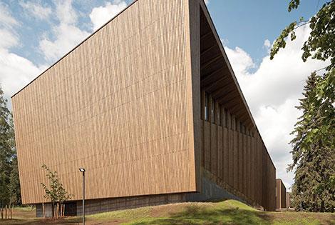 The Serlachius museum building