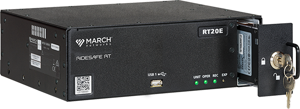 March Networks RideSafe RT Series IP Recorders for rail applications