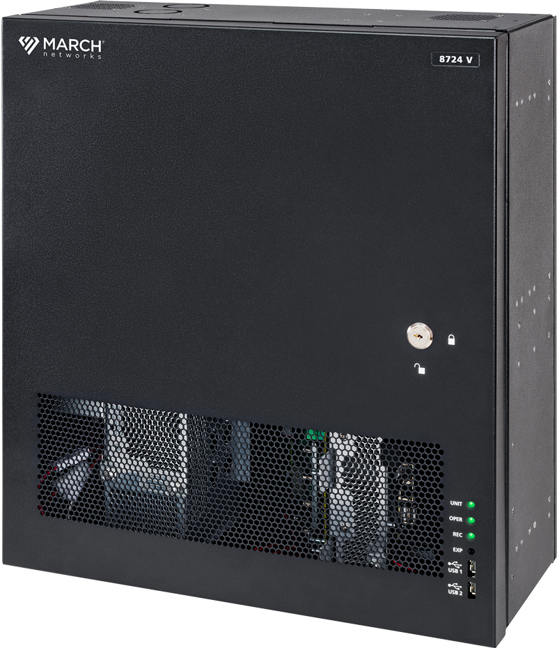The March Networks 8724 V Tribrid NVR