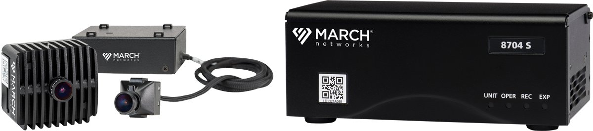 The March Networks MegaPX ATM Cameras and 8704 Hybrid NVR