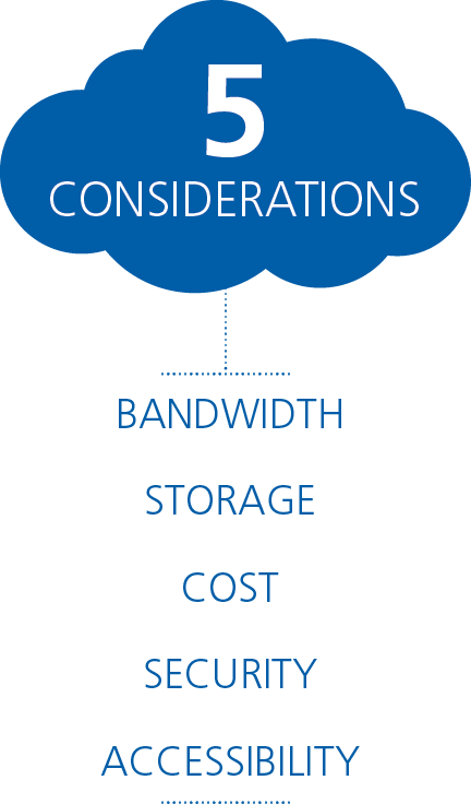 March Networks Cloud five considerations