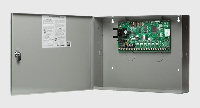 a DMP control panel box.