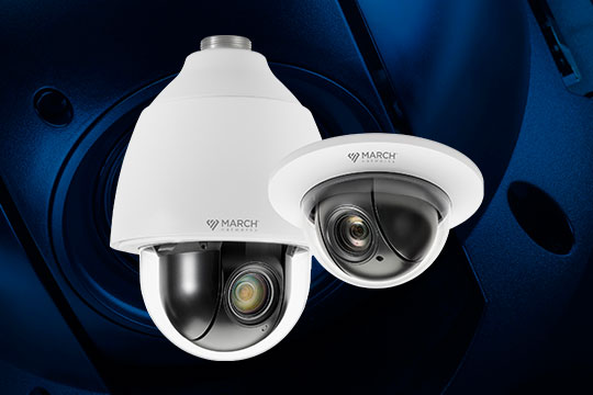 March Networks SE2 PTZ cameras