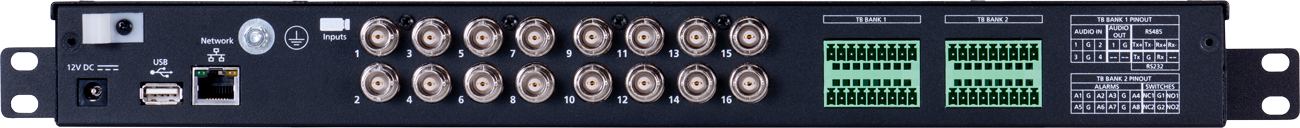 March Networks 16-channel video encoder