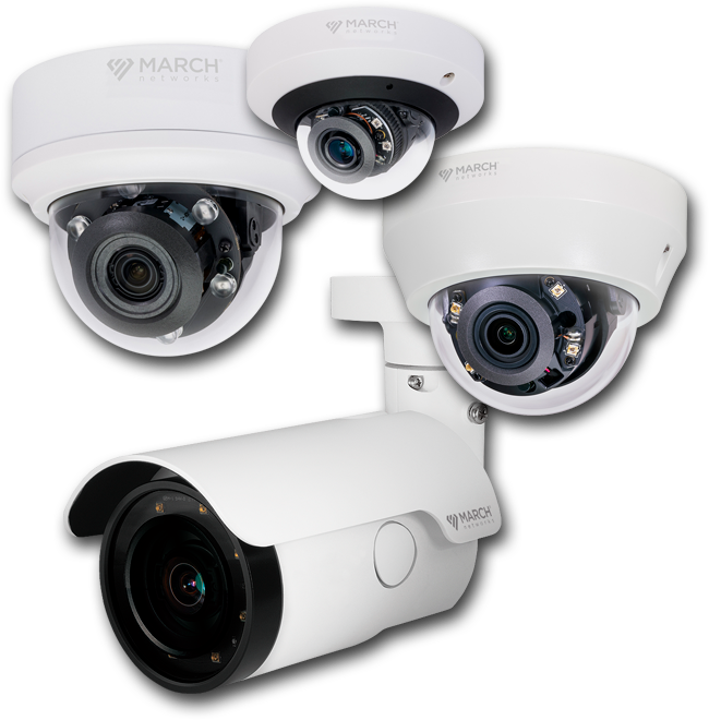 The family of SE4 Series IP Cameras