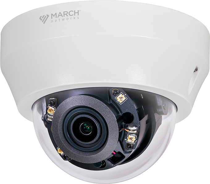 The SE4 Indoor IR Dome security camera