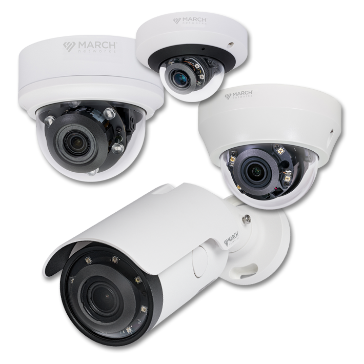 The SE4 Series IP Camera family