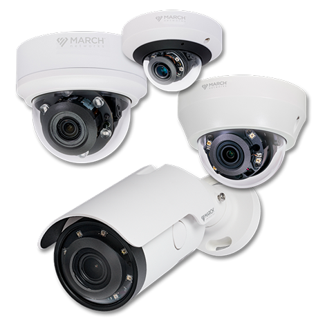 New SE4 Series IP Cameras