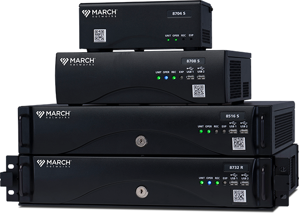March Networks X-Series Hybrid Recorders