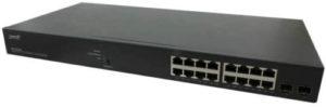 16-port managed switch
