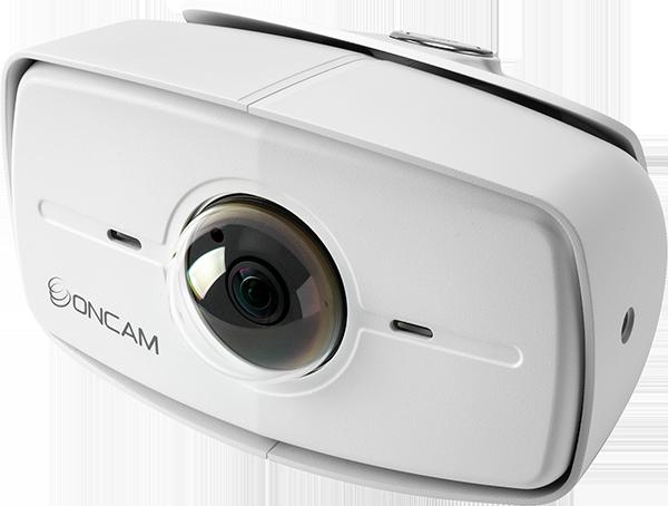 Evolution 180 degree outdoor camera (white)