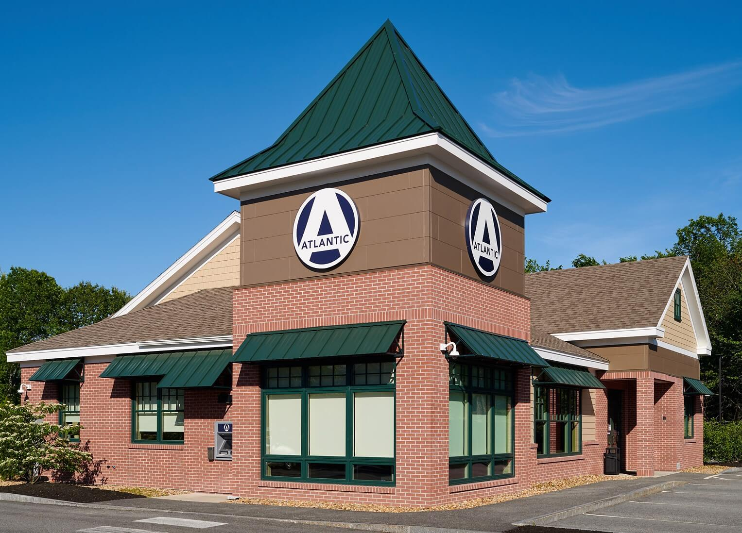 Atlantic Federal Credit Union outside of building